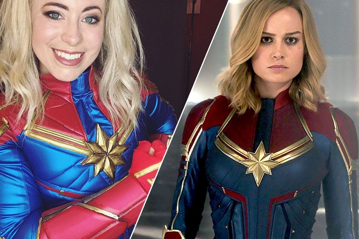 Building A Captain Marvel Costume Make It Yours Sunday Edit Alibaba.com offers 896 captain marvel costume products. building a captain marvel costume